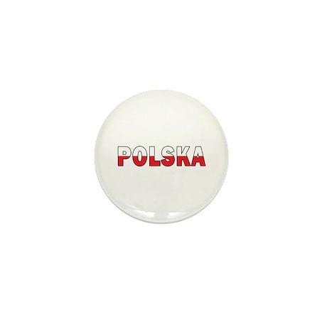 Polska Flag Mini Button