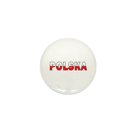 Polska Flag Mini Button (10 pack)