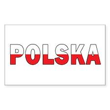 Polska Flag Decal