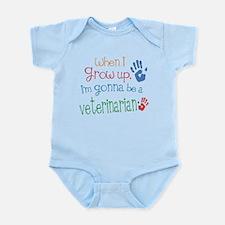 Kids Future Veterinarian Infant Bodysuit