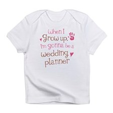 Kids Future Wedding Planner Infant T-Shirt