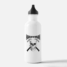 Handyman Skull Water Bottle