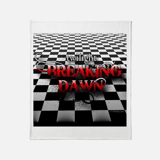 Breaking Dawn Drama by Twibaby Throw Blanket