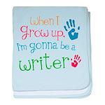 Kids Future Writer baby blanket