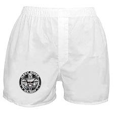 USN Navy Diver ND Skull Don't Boxer Shorts