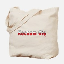 Kocham Cie - I Love You Tote Bag