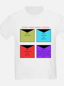 Star trek TOS shirt codes T-Shirt