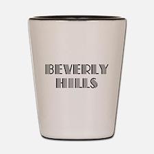 Beverly Hills Shot Glass