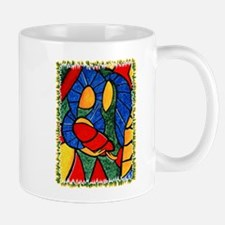 Holy Family Colorful Christmas Coffee Mug