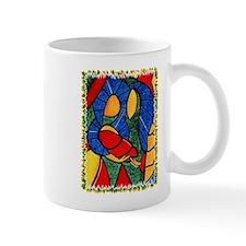 Holy Family Colorful Christmas Coffee Mug