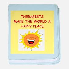 Therapists baby blanket