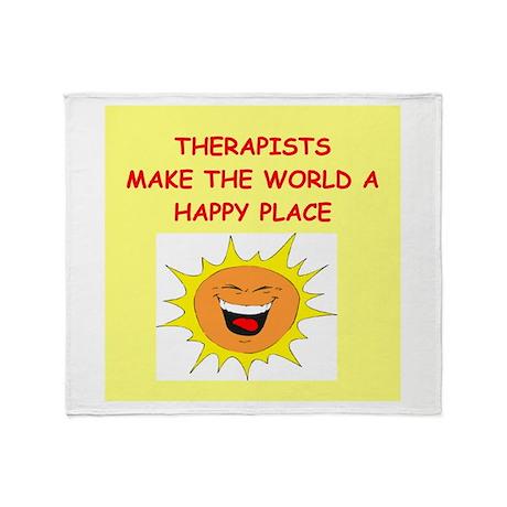 Therapists Throw Blanket