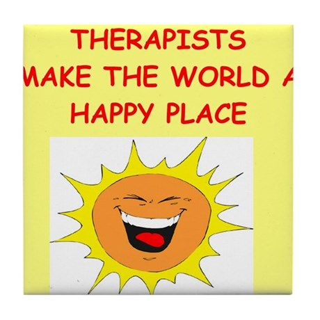 Therapists Tile Coaster
