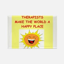 Therapists Rectangle Magnet