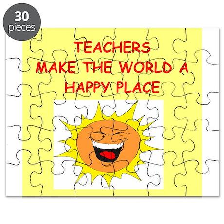 teachers Puzzle