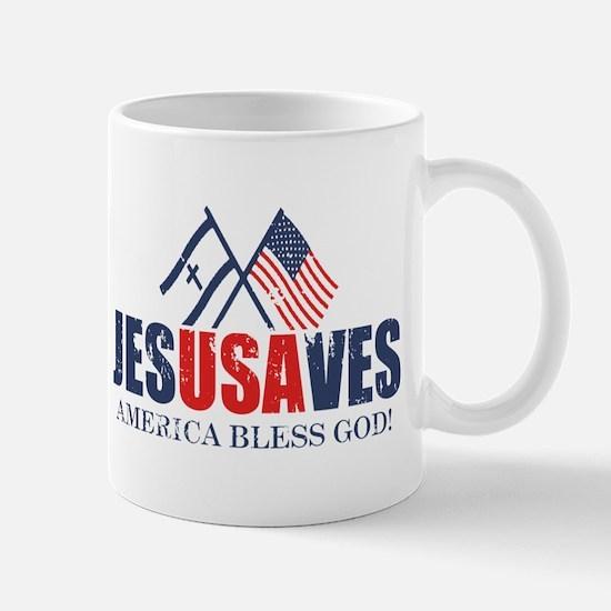 Jesus Saves Mug
