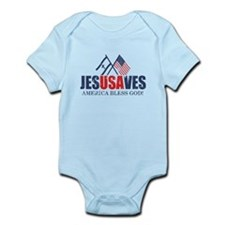 Jesus Saves Infant Bodysuit