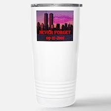 NEVER FORGET 09-11-2001 Travel Mug