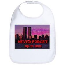 NEVER FORGET 09-11-2001 Bib