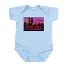 NEVER FORGET 09-11-2001 Infant Bodysuit
