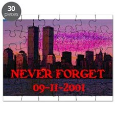 NEVER FORGET 09-11-2001 Puzzle