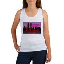 NEVER FORGET 09-11-2001 Women's Tank Top