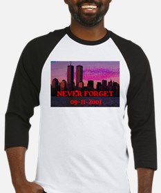 NEVER FORGET 09-11-2001 Baseball Jersey