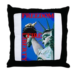 FREEDOM, LIBERTY & FIRE™ Throw Pillow