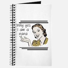 Retro Nana Journal