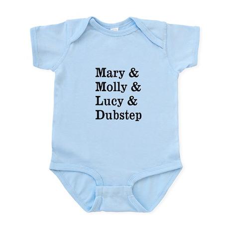 Mary Molly Lucy Dubstep Infant Bodysuit