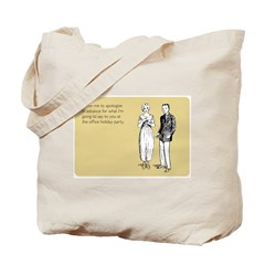 Office Holiday Party Tote Bag