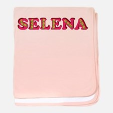 Selena baby blanket