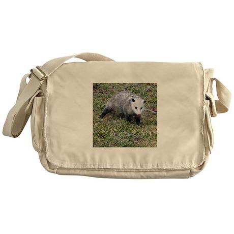Opossum Messenger Bag