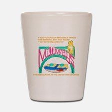 Milliways Shot Glass