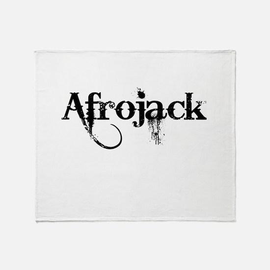 Afrojack Throw Blanket