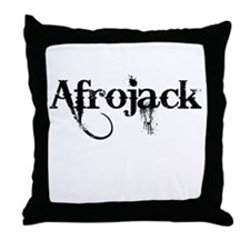 Afrojack Throw Pillow