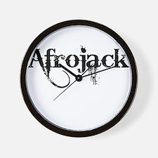 Afrojack Wall Clock