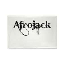 Afrojack Rectangle Magnet