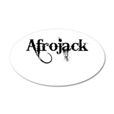 Afrojack 22x14 Oval Wall Peel