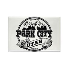 Park City Old Circle Rectangle Magnet