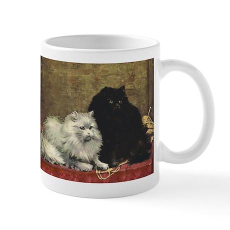 Black and White Persians Mug
