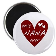 Heart Best Nana Ever Magnet