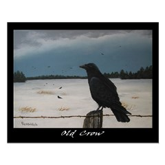 Old Crow Poster
