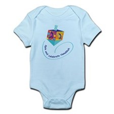Hanukkah Dreidel infant Bodysuit