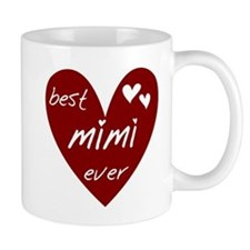 Heart Best Mimi Ever Mug