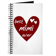 Heart Best Mimi Ever Journal