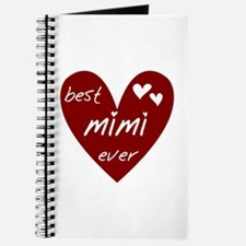 Heart Best Mimi Ever Journal