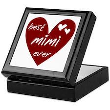 Heart Best Mimi Ever Keepsake Box
