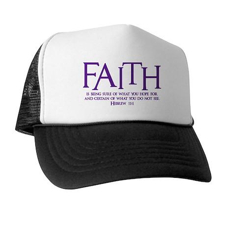Hebrew 11:1 Trucker Hat