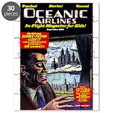 $14.99 Oceanic Air In-Flight Mag Puzzle